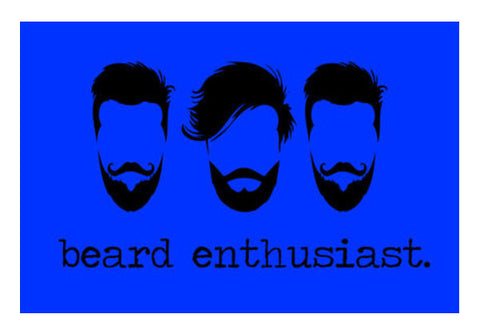 Beard Enthusiast Art PosterGully Specials