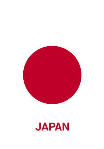 Japan | #Footballfan Wall Art | Artist : Creative DJ