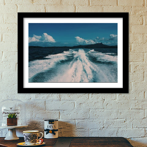 Sea Waves Premium Italian Wooden Frames | Artist : nandita sharma