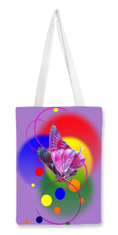 Butterfly in Dream Tote Bags | Artist : Amar Singha