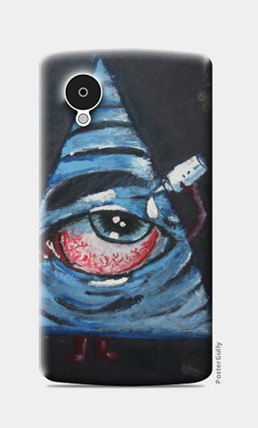 Trippy eye @srijana's Nexus 5 Cases | Artist : srijana giri