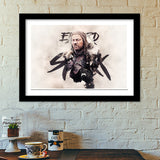 Eddard Stark Digital Painting | Game of Thrones Premium Italian Wooden Frames | Artist : Gub Gub