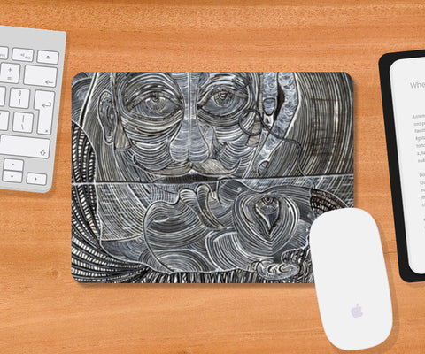 Mousepad, Perpetual Bliss Mousepad | Artist : Luke's Art Voyage, - PosterGully