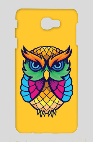 Colorful Owl Samsung J7 Prime Cases | Artist : Inderpreet Singh