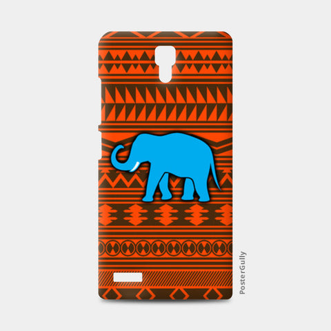 Blue Elephant Redmi Note Cases | Artist : Vaishak Seraphim