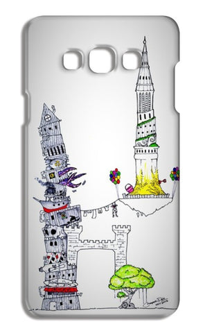 Tower Of Abstract Dreams Samsung Galaxy A7 Cases | Artist : Mayank's Art