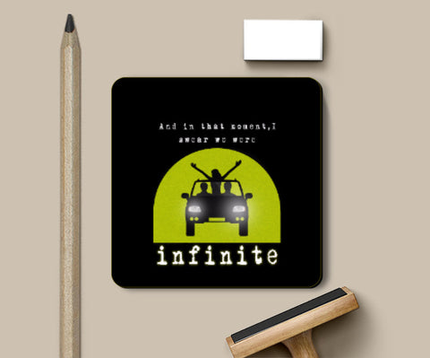 Coasters, The Perks Of Being A Wallflower The Tunnel Coaster | Artist: Shivam Dhuria, - PosterGully