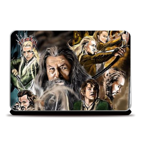 Laptop Skins, The Hobbit Laptop Skins | Artist : Draw On Demand, - PosterGully