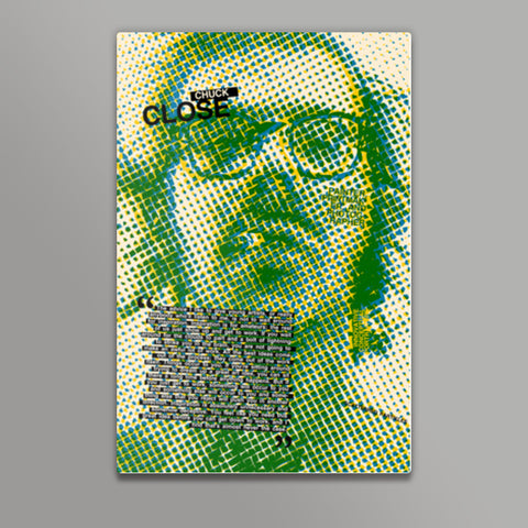 Chuck Close Metal Prints | Artist : Scatterred Partikles