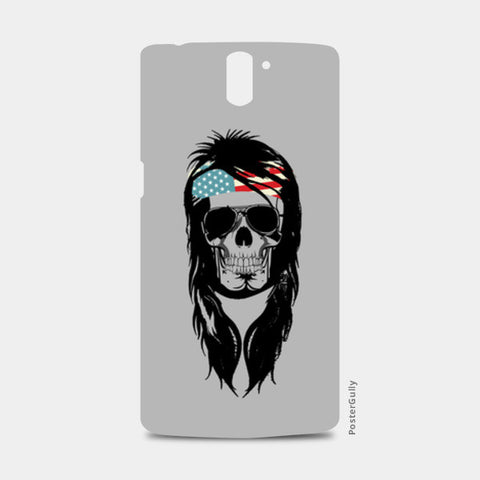 One Plus One Cases, Rockstar skull One Plus One Cases | Artist : Abhishek Bhardwaj, - PosterGully