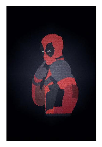 PosterGully Specials, DEADPOOL MOSAIC! Wall Art | Artist : DISHA BHANOT, - PosterGully