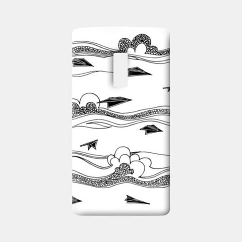 One Plus Two Cases, Floating Planes One Plus Two Cases | Artist : Anahat Kaur, - PosterGully