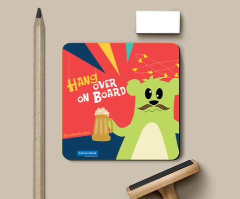 Coasters, Chacha Boo Boo - Drive Safely Coasters | Artist : Don't Be A Boo Boo, - PosterGully