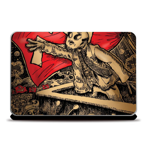 Laptop Skins, The Comrade Alien Laptop Skin | Charbak Dipta, - PosterGully