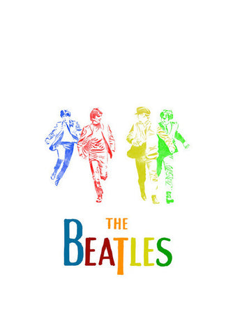 The Beatles Wall Art | Artist : Chandan Verma