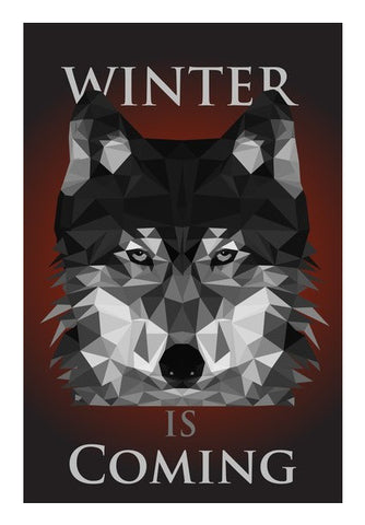 Wall Art, HOUSE STARK  Wall Art Wall Art | Artist : Vedant Sharma, - PosterGully