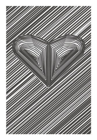 Wall Art, heart hart heart Wall Art | Artist : sourabh tiwari, - PosterGully