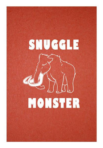 PosterGully Specials, Snuggle Monster Wall Art | Artist : Dr. Green | PosterGully Specials, - PosterGully