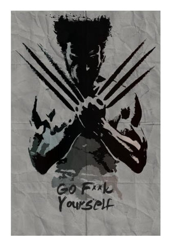 PosterGully Specials, Wolverine | X-men Wall Art | Artist : Arif Ahmad, - PosterGully