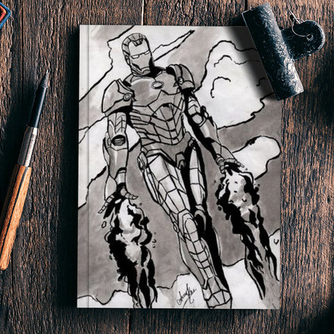 IRON MAN Notebook | Artist : Asees Kaur