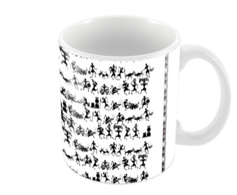 Warli Art Coffee Mugs