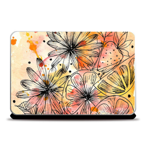 Fruit Punch Laptop Skins | Artist : Swathi Kirthyvasan