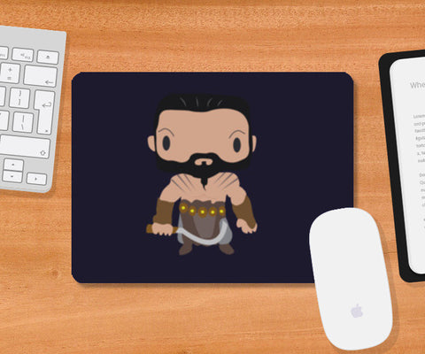 Khal Drogo Games of Throne Funny Mousepad | Artist : Aniket Kamal