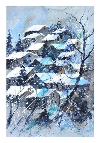 Wall Art, watercolor 41211032 Wall Art | Artist : pol ledent, - PosterGully
