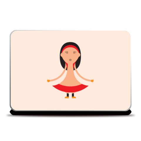 Fancy girl Laptop Skins | Artist : Mani Selvam