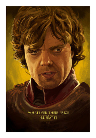 Game of Thrones - Tyrion the imp Wall Art | Artist : Aniruddha Lele