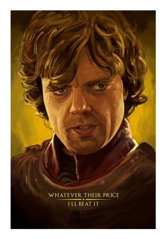 Game Of Thrones - Tyrion The Imp Art PosterGully Specials