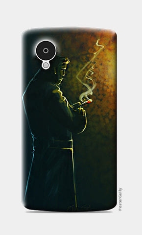 Nexus 5 Cases, Thinking Nexus 5 Case | Artist: Rishi Singh, - PosterGully