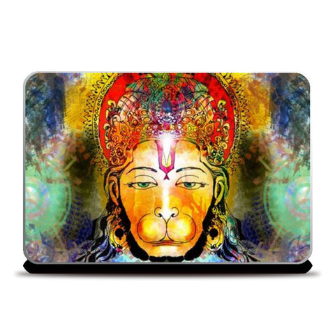 Laptop Skins, Lord Hanuman Laptop Skins | Artist : Pradeesh K, - PosterGully