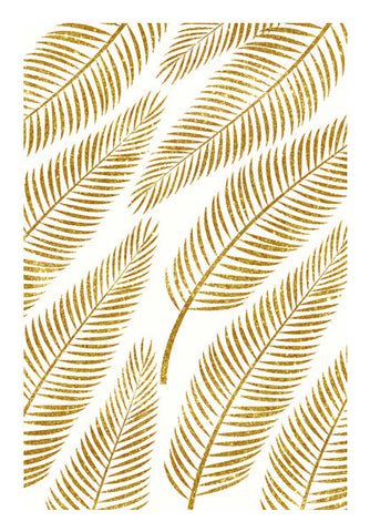 Golden Palm Wall Art | Artist : Uma Gokhale