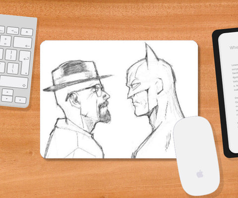 Mousepad, Breaking Batman Mousepad | Artist: Pankaj Lewarikar, - PosterGully