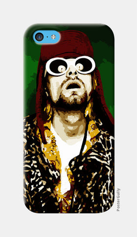 KURT COBAIN NIRVANA iPhone 5c Cases | Artist : Archit Bansal