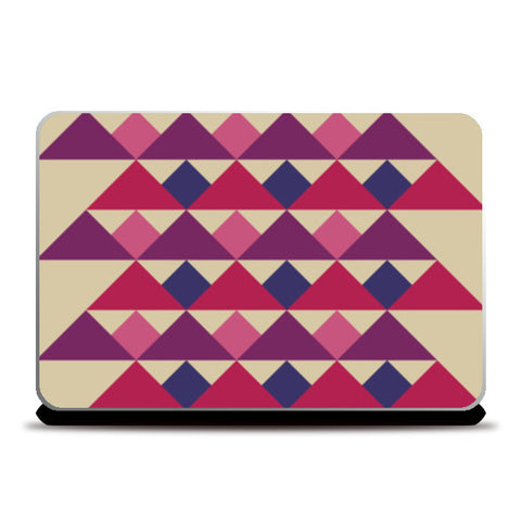 Laptop Skins, Triangles I Laptop Skins | Artist : Anuja Katti, - PosterGully
