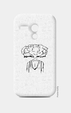 Moto G Cases, Cloud of Thoughts Moto G Cases | Artist : Pulkit Taneja, - PosterGully