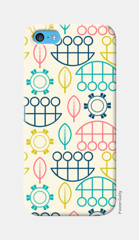 Multicolored art design vector pattern iPhone 5c Cases | Artist : Designerchennai