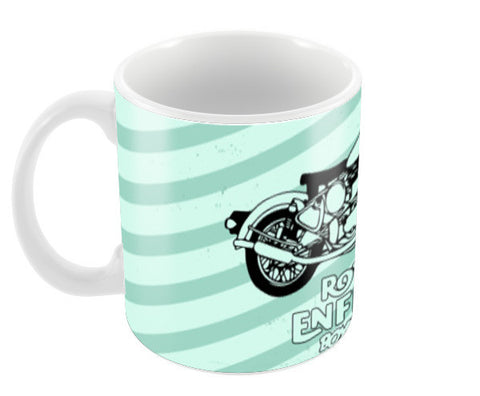 Royal Enfield Coffee Mugs | Artist : Designerchennai