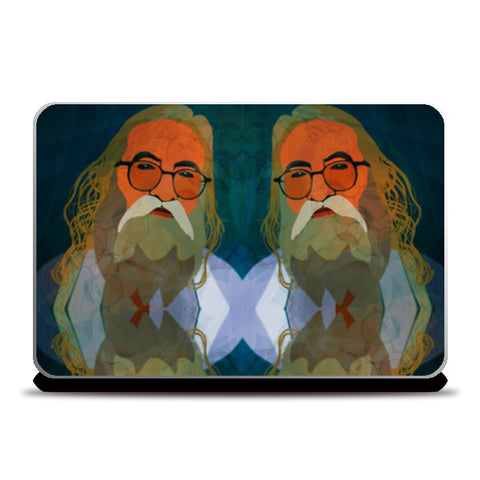 Intact Spirit - Indian Man Laptop Skins | Artist : Rameshwar Chawla