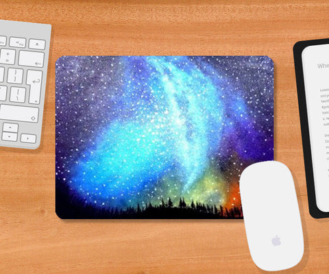 Mousepad, Northern Lights Mousepad | Artist: Kislaya Sinha, - PosterGully