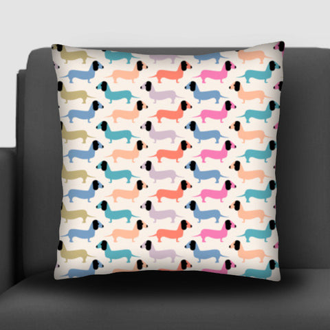 Dog seamless pattern Cushion Covers | Artist : Designerchennai