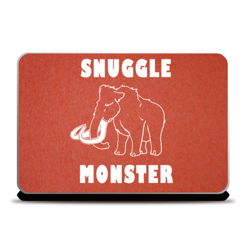 Laptop Skins, Snuggle Monster Laptop Skins | Artist : Dr. Green, - PosterGully