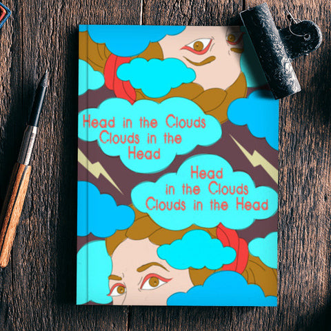 Clouds in the Head Notebook | Artist : Vishali Bawa