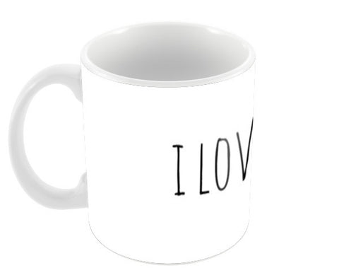 I love us Coffee Mugs | Artist : Nikita Chhajer