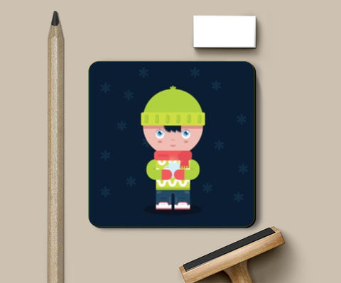 Coasters, Cute Winter Times Coasters | Artist : Arimit Bhattacharya, - PosterGully