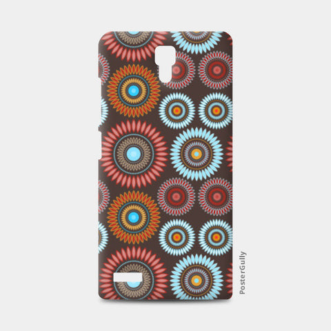 Flower Mandala Seamless Pattern Redmi Note Cases | Artist : Designerchennai