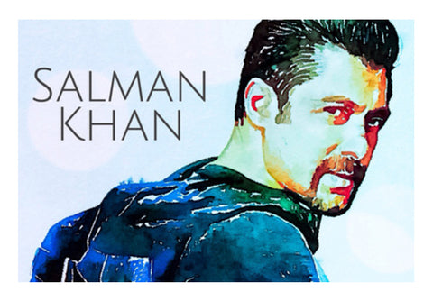 Salman Khan Wall Art  | Artist : Delusion