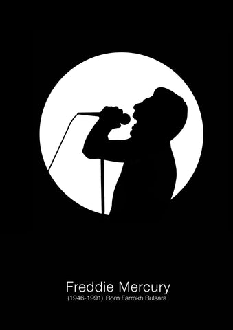 PosterGully Specials, Queen | Freddie Mercury, - PosterGully
